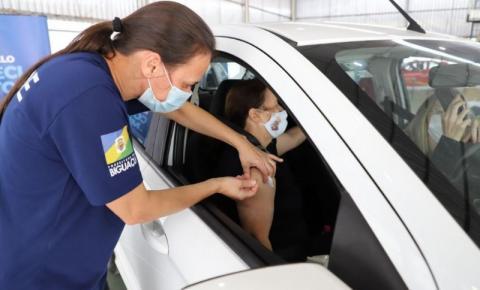 Biguaçu inicia vacinação de pessoas de 38 anos nesta terça-feira