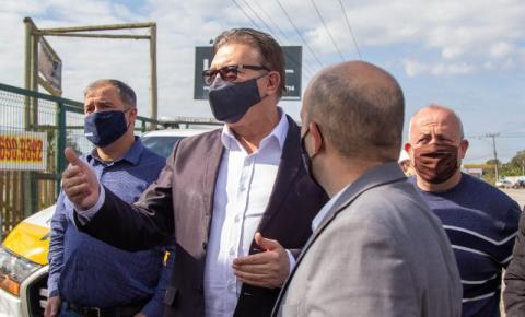 São José aposta em ação conjunta com o estado para buscarsolução ao trânsito da SC-281