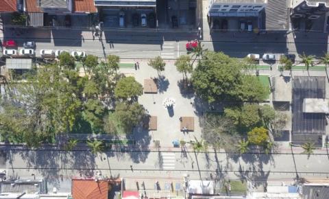 Praça 7 de Setembro será reinaugurada no dia 25 de julho em Palhoça