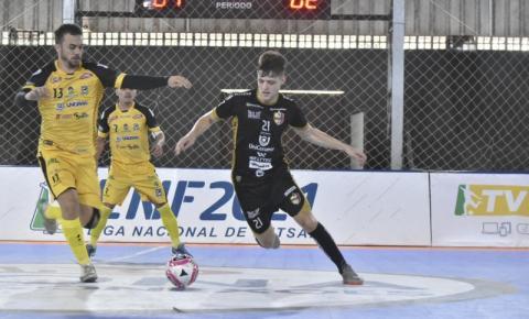 Blumenau vence o Juventude por 3 a 1, de virada, pela Liga Nacional de Futsal