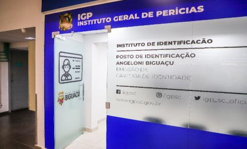 Biguaçu tem espaço exclusivo para emissão da Carteira de Identidade