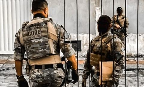 Polícia Civil prende em Palhoça foragido por homicídio e organização criminosa no Pará