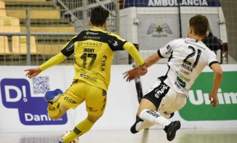 Jaraguá Futsal recebe o São José em duelo pela Liga Nacional