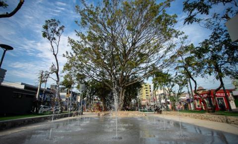 Inauguração da Praça Sete de Setembro em Palhoça tem nova data: 31 de julho