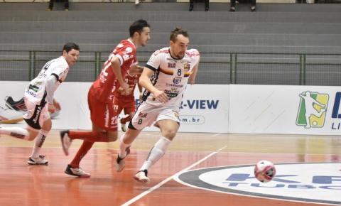 Blumenau Futsal é goleado em casa pelo Atlântico e se complica na Liga Nacional