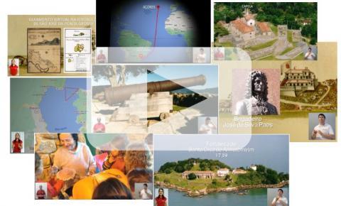 Site reúne todos os vídeos do tour virtual da Fortaleza de São José da Ponta Grossa