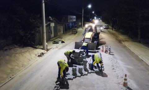 Revitalização da Rendeiras será feita de dia e de noite em Florianópolis